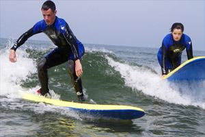 Surfing Bundoran